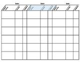 Write-on Homeschool Planner