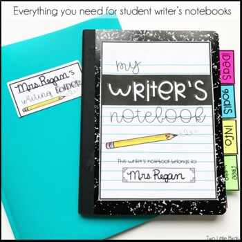 Writers Workshop: Writing Workshop Lessons, Writer's Notebook, Posters, Folder
