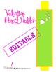 Write On Valentine! : An Editable Valentine's Day Pencil Holder
