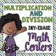 Write on Wipe off Math Centers [BUNDLE]