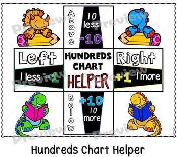 Number Grids Puzzles Fun Set {Dinosaur Themed}