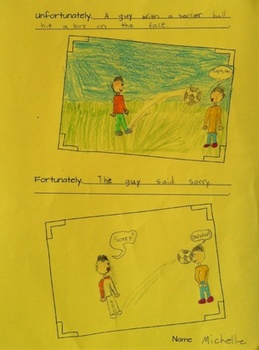 Write short pattern stories - Grades 3 to 5