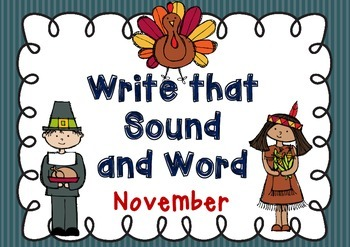 Write that Sound and Word - November