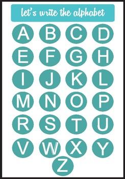 Write the Alphabet!