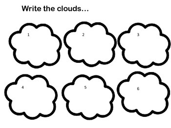 Write the Clouds