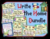 Write the Home Bundle | Distance Learning