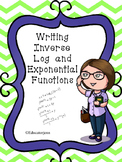 Write the Inverse of Log Functions BUILD A MONSTER