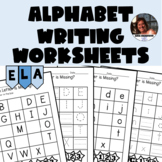 Write the Missing Letters of the Alphabet