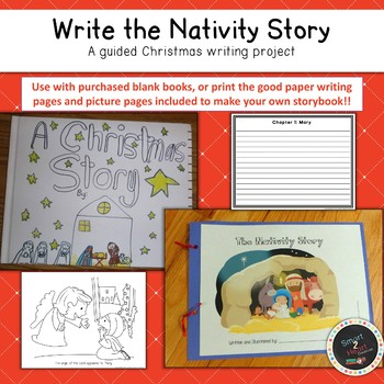 Christmas Nativity Writing: Christmas Story Project