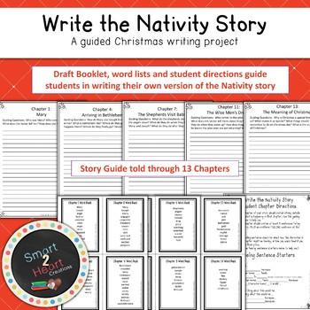 Christmas Nativity Writing: Christmas Story Project