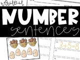 Write the Number Sentence (Addition & Subtraction Write the Room Activities)