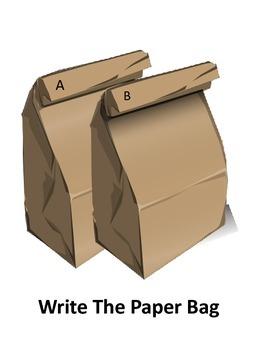 Write the Paper Bag