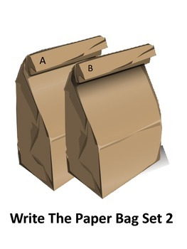 Write the Paper Bag Set 2