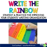 Write the Rainbow (An Organizational Tool for Writing)