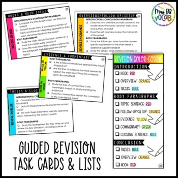 Write the Rainbow: Color-Coded Essay Revision