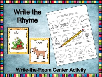 Write the Rhyme 2 - Read & Write the Room