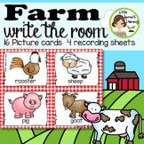 FARM Write the Room - - 16 cards four versions, four recording sheets