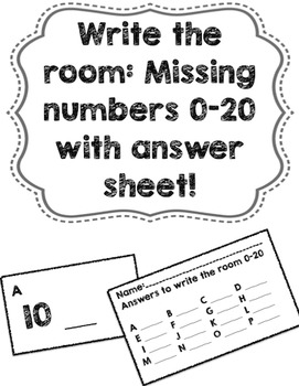 Write the Room 0-20