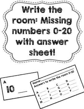Write the Room 0-20