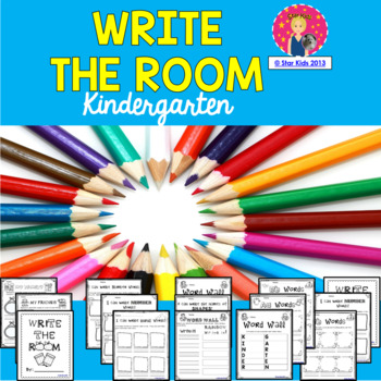 Kindergarten Write the Room Worksheets