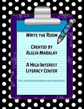 Write the Room Freebie