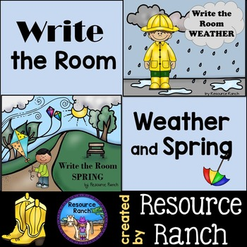 Weather and Spring Write the Room