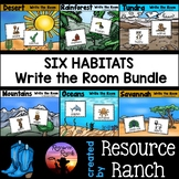Habitats Write the Room Bundle