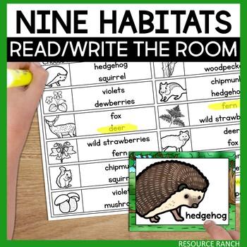 Habitats Write the Room Bundle