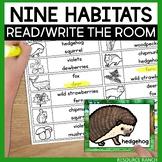 Animal Habitats Write the Room