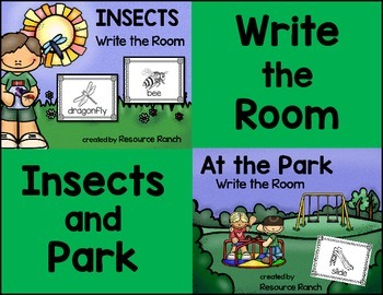 Insects Write the Room|Park Write the Room