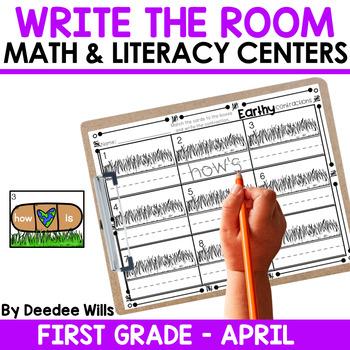 Write the Room 1st Grade: April