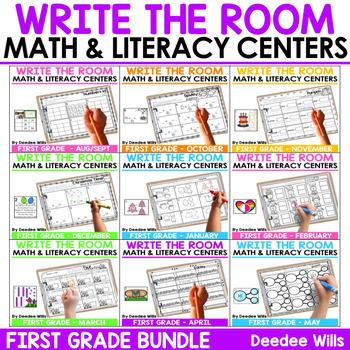 Write the Room 1st Grade: Growing Bundle