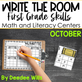 Write the Room 1st Grade: October