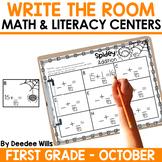 Write the Room 1st Grade: October
