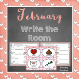 Kindergarten Write the Room - February {Write the Room Monthly}