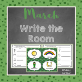 Kindergarten Write the Room - March {Write the Room Monthly}