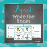 Kindergarten Write the Room - April {Write the Room Monthly}