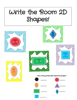 Write the Room 2D Shapes
