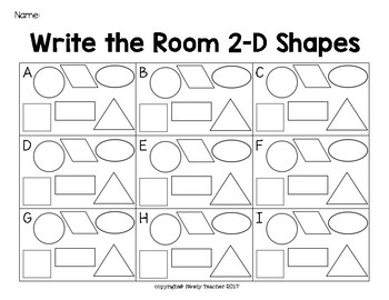 Write the Room - 2D Shapes