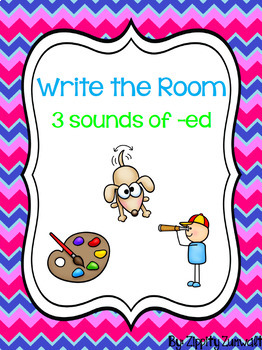 Write the Room - 3 Sounds of -ed