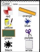 Write the Room - 4 Art Projects, colors,shapes  Esl, PreK, K, 1st