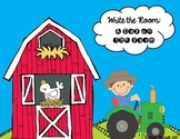 Write the Room: A Day on the Farm