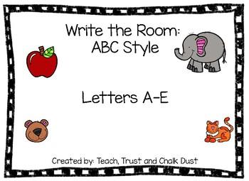 Write the Room A-E