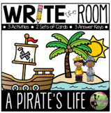 Write the Room:  A Pirate's Life Edition (K-2)