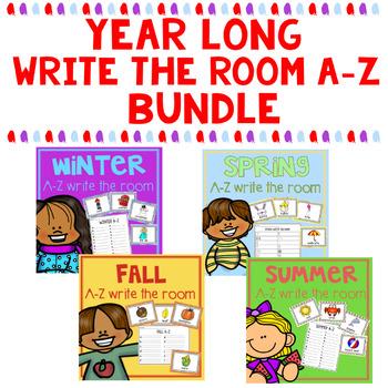 Write the Room A-Z Seasons Bundle
