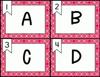 Write the Room (A-Z) Valentine's Day