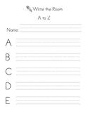 Write the Room A to Z
