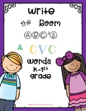 Write the Room ABC's & CVC