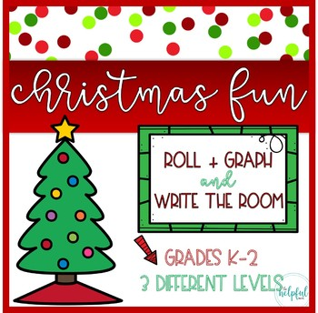 """Write the Room AND Roll + Graph ~ """"Carolers/Christmas Eve"""" theme"""