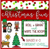 Write the Room AND Roll + Graph ~ Christmas Fun BUNDLE